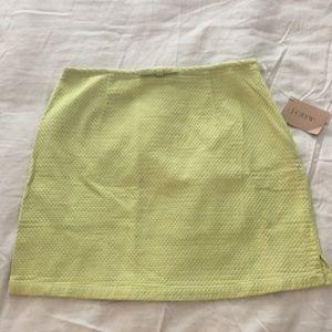 NWT JCrew A-Line skirt
